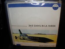 """365 DAYS IN A WEEK silence screams no three ( rock ) 7""""/45 picture sleeve BLUE"""