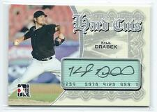 2011 ITG Heroes & Prospects Kyle Drabek Hard Cuts AUTO AUTOGRAPH RC
