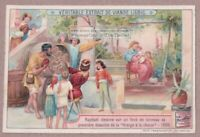 Artist Raphael Painting Virgin In The Chair 1905  Trade Ad Card
