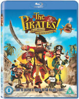 The Pirates! In an Adventure With Scientists Blu-Ray (2012) Peter Lord cert U