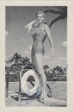 Esther Williams Original SIGNED PHOTO AK 50er