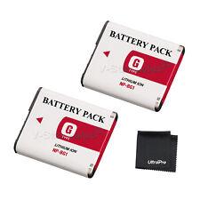 2x NP-BG1 NPBG1 Battery + BONUS for Sony DSC-W170 W200 W210 W215 W220 W230
