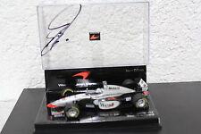 F1 West McLaren MP 4/12 Coulthard #10 1:43 signed Orig Autogramm Autograph Box