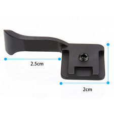 Black Thumb Up Grip for Sony Canon Fujifilm X10 X100 XE1 X-PRO1   UK