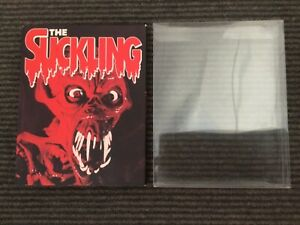 The suckling blu ray vinegar syndrome horror rare oop with slipcover protector