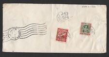 China Taiwan 1956 registered airmail cover to Germany (tear)