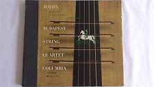 "Haydn ""Quartet No. 30, In G Minor""  - Columbia Set #MX-274 Budapest String Quart"