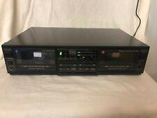 Teac W 660R Double Auto Reverse Cassette Deck