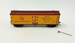 ATLAS 41458 N SCALE MILWAUKEE ROAD ICE REEFER 85210 GOOD CONDITION
