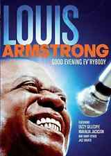 LOUIS ARMSTRONG Good Evening Ev'rybody DVD BRAND NEW