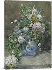 ARTCANVAS Spring Bouquet 1886 Canvas Art Print by Pierre-Auguste Renoir