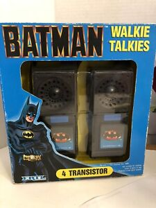 Batman Walkie Talkies - ERTL New in Open Box