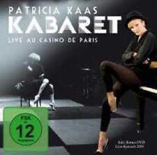 """PATRICIA KAAS """"KABARET LIVE"""" CD+DVD NEU"""