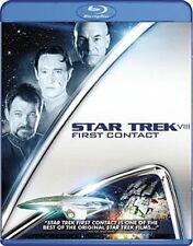 Star Trek VIII First Contact 0097360719543 With Patrick Stewart Blu-ray