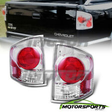 For 1994-2004 Chevy S10/GMC Sonoma Chrome Rear Brake Tail Lights Pair