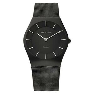 Bering Unisex Watch Wrist Watch Titan Slim Classic - 11935-222 Meshband