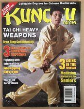 Kung Fu Tai Chi Heavy Weapons Internal Arts July Aug 2014 FREE SHIPPING!