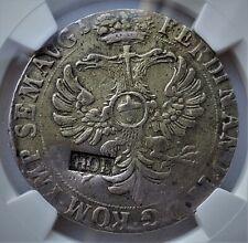 28 Stuivers1692 Ferdinand II NETHERLANDS Countermark HOLLAND Ultra Rare!! XF NGC