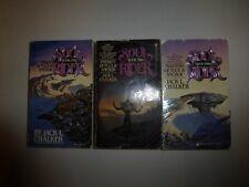3 Lot Soul Rider Books #1-3 by Jack L. Chalker Paperback SF5