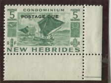 New Hebrides - BRitish  Stamps Scott #J11 Used,F-VF (X7901N)