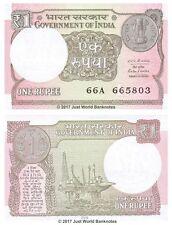 India 1 Rupee 2016  P-New Banknotes UNC