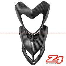 2007-2012 Hypermotard 796 1100 Upper Front Nose Headlight Fairing Carbon Fiber