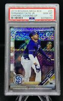 2019 Fernando Tatis Jr Bowman Chrome MOJO REFRACTOR Rookie 🤩 PSA 10 Gem Mint 💎