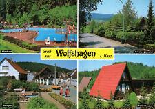 38685 Wolfshagen im Harz  -  Waldschwimmbad - Anlagen  - Ferienhäuser  -  1990