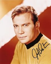 WILLIAM SHATNER signed 8x10  STAR TREK photo