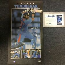 SACHIN TENDULKAR INDIA HAND SIGNED LIMITED EDITION RETIREMENT ONE DAY PRINT