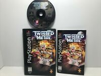 Twisted Metal (Sony PlayStation 1, 1995) Long Box TESTED WORKS Authentic HTF