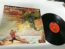 Yngwie J. Malmsteen/Trilogy w/lyric inner Metal Record lp original vinyl album
