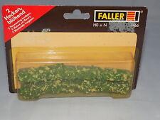 HO & N Scale - Faller 1466 - 2 Flowering Hedges - NIP