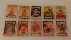 The garbage gang stickers from 1986 /1987 in portuguese Brazil (lot 10 units)