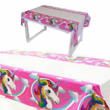 Unicorn Table Cover Rainbow Birthday Party Range Girls Childrens Decorations