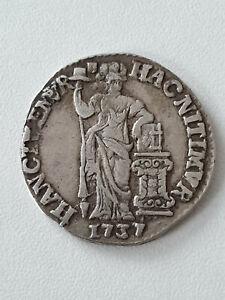 Pays Bas Holland 1 Gulden Argent 1737 Gelderland