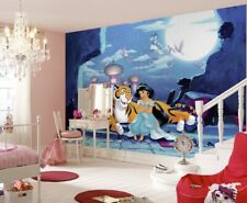 Children's bedroom wallpaper mural Jasmine & Aladdin Disney photo decor + GLUE