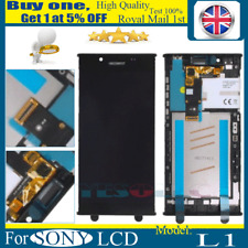 For Sony Xperia L1 G3311 G3312 G3313 LCD Screen Touch Digitizer Assembly + Frame