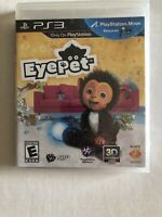 EyePet Video Game For Sony PlayStation 3 (PS3) -- NEW & Sealed -- FREE Shipping