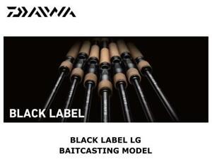 Daiwa Black Label LG Baitcasting 631L+RB casting rod ship from Japan
