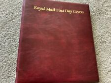 ROYAL MAIL FIRST DAY COVER ALBUM COVER WITH SLIP CASE MINT CONDITION