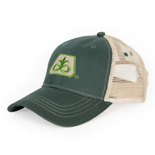 PIONEER SEED *GREEN & TAN MESH BACK* Trademark Logo CAP HAT *BRAND NEW* PS02