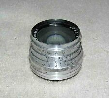 JUPITER 8 2/50 1963 Old Silver Rare Russian USSR lens M39 FED Zorki Leica