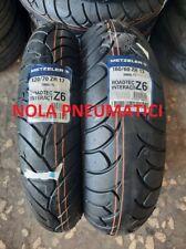 Coppia 120/70 ZR17 58W 160/60 ZR17 69W METZELER ROADTEC INTERACT Z6 DOT fine2018