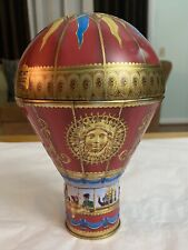 Churchill's Confectionery Victorian Hot Air Balloon Red Tin Bank