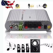 200W Hifi Cd Radio Car Home Audio Stereo Bass Mp3 Speaker Amplifier Booster 12V