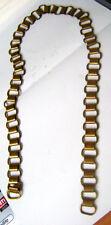 Mattgoldene Ringkragenkette aus Messing für Ringkragen oder Brustschild