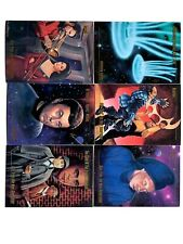 Vintage 1983 Paramount Pictures Skybox 6 Star Trek Trading Cards E81