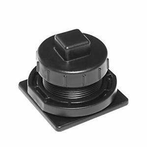 Rubbermaid Commercial Stock Tank Drain Plug Kit FG505012