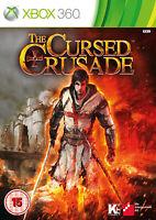 The Cursed Crusade Jeu Xbox 360 Neuf scellé PAL UK